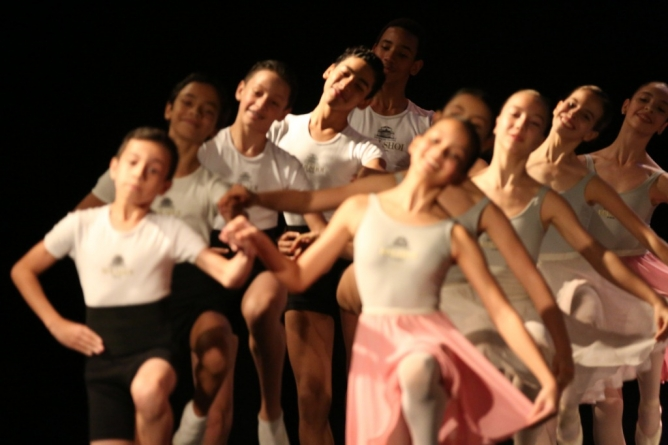 Escola Bolshoi apresenta espetáculo Gratuito