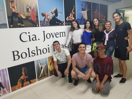 Novos bailarinos - Cia. Jovem Bolshoi Brasil 2018