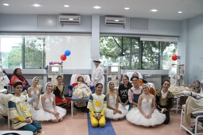 Vídeo da Pró-Rim com participação da Escola Bolshoi é finalista Em Concurso Mundial