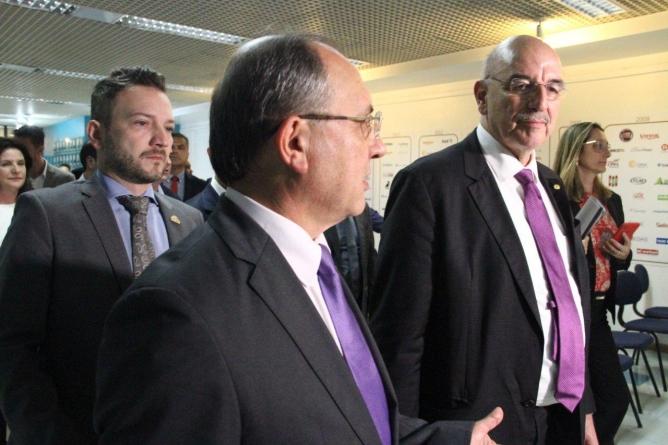 Ministro Osmar Terra visita a Escola Bolshoi