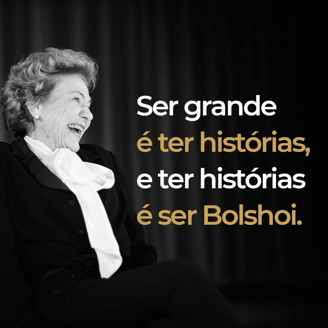 Bolshoi Brasil é feito de grandes histórias!