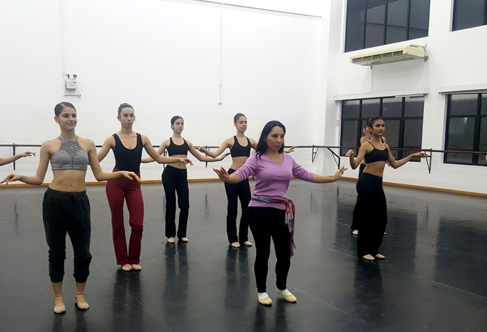 Dança do Ventre na Escola Bolshoi