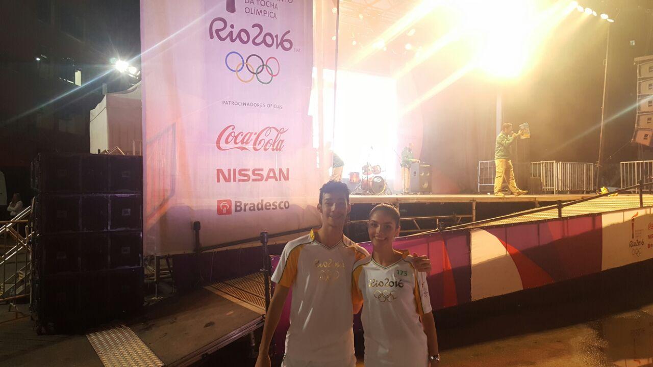 Passagem da Tocha Olímpica por Joinville/SC