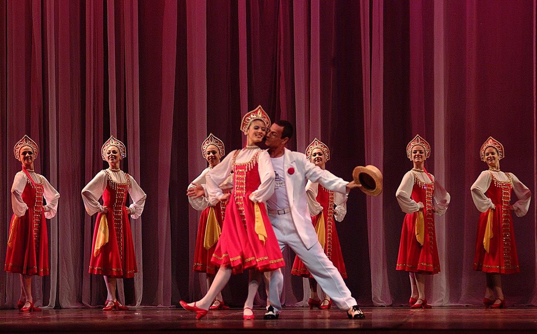 Galeria da Fama - Momentos especiais durante o Festival de Dança
